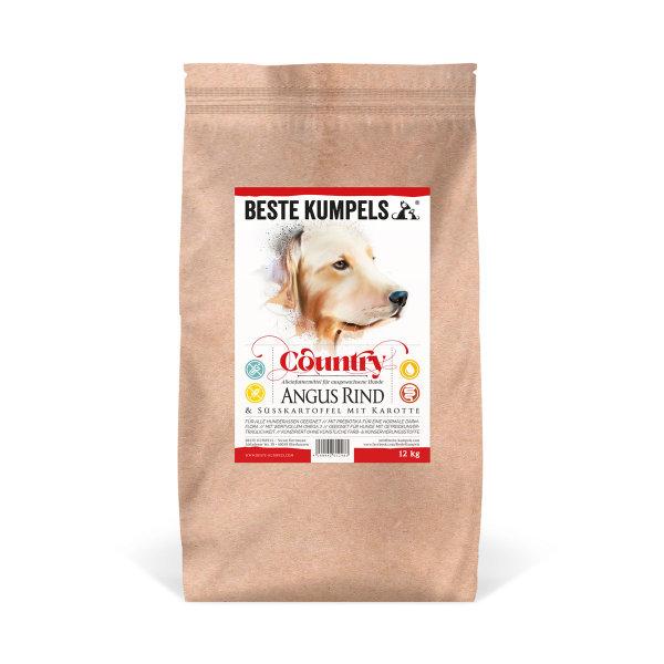 Getreidefreies Trockenfutter mit Rind Country, 6 kg