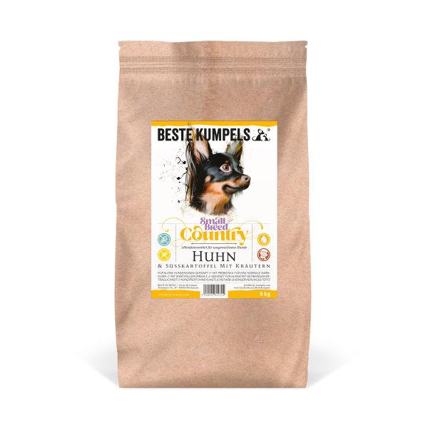 Getreidefreies Trockenfutter mit Huhn Small Breed