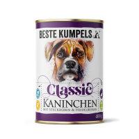 Getreidefreies Nassfutter Kaninchen Classic, 400 g