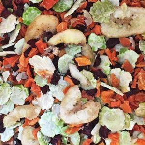 Gemüse Flocken Mix mit Banane