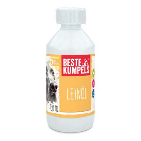 Leinöl, Leinöl für Tiere