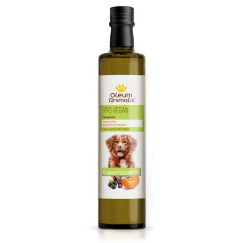 Veganes Öl mit Ariona für Hunde