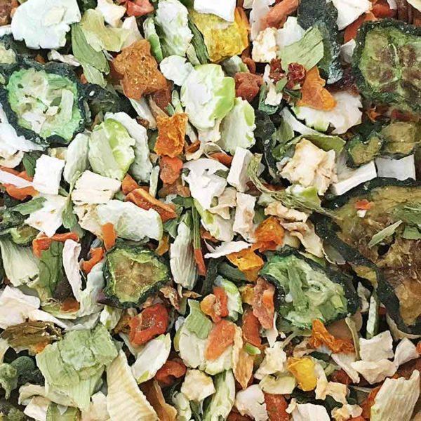 Gemüse Querbeet Flocken Mix