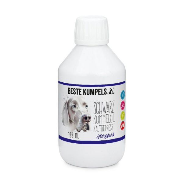 Schwarzkümmelöl für Hunde
