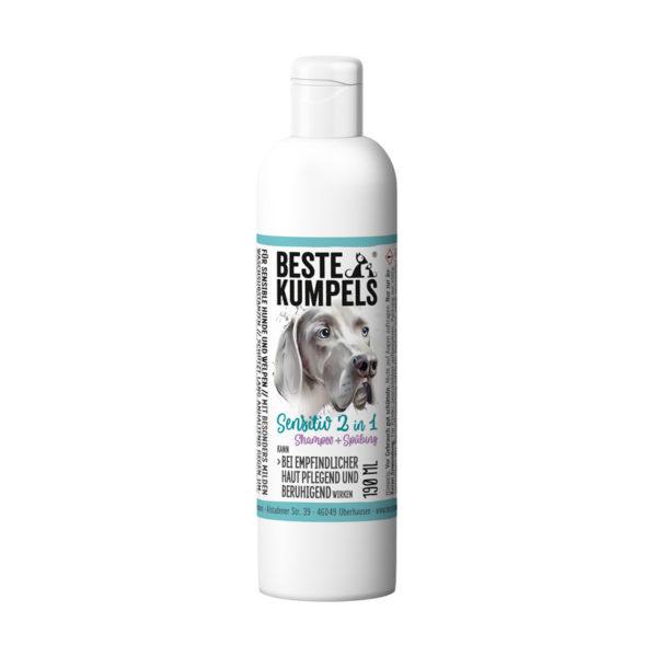 2 in 1 Shampoo für Hunde