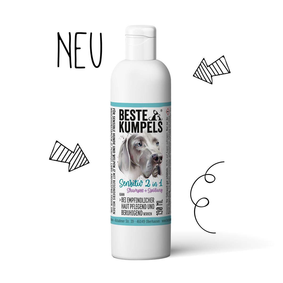 Neu im Shop: 2 in 1 Shampoo und Spülung