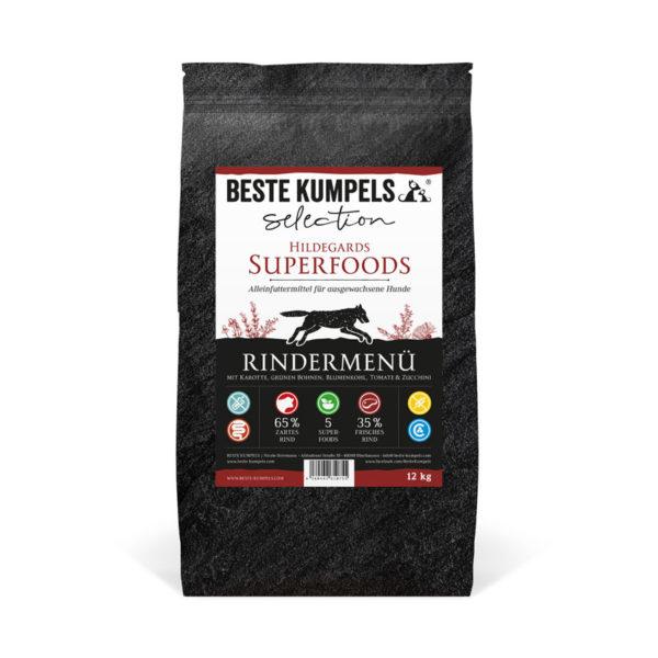 Superfoods Rindermenü